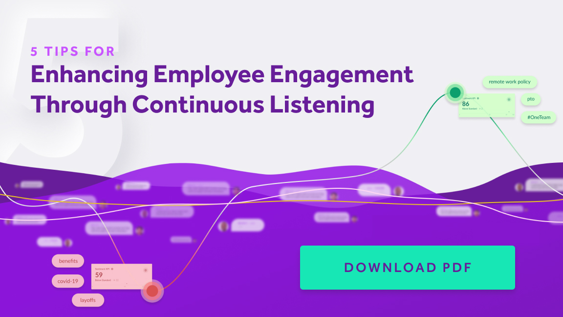Continuous Listening and Employee Engagement