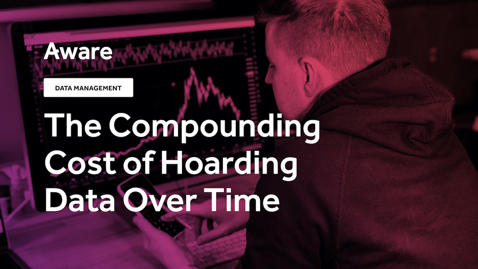 The Compounding Cost of Hoarding Data Over Time
