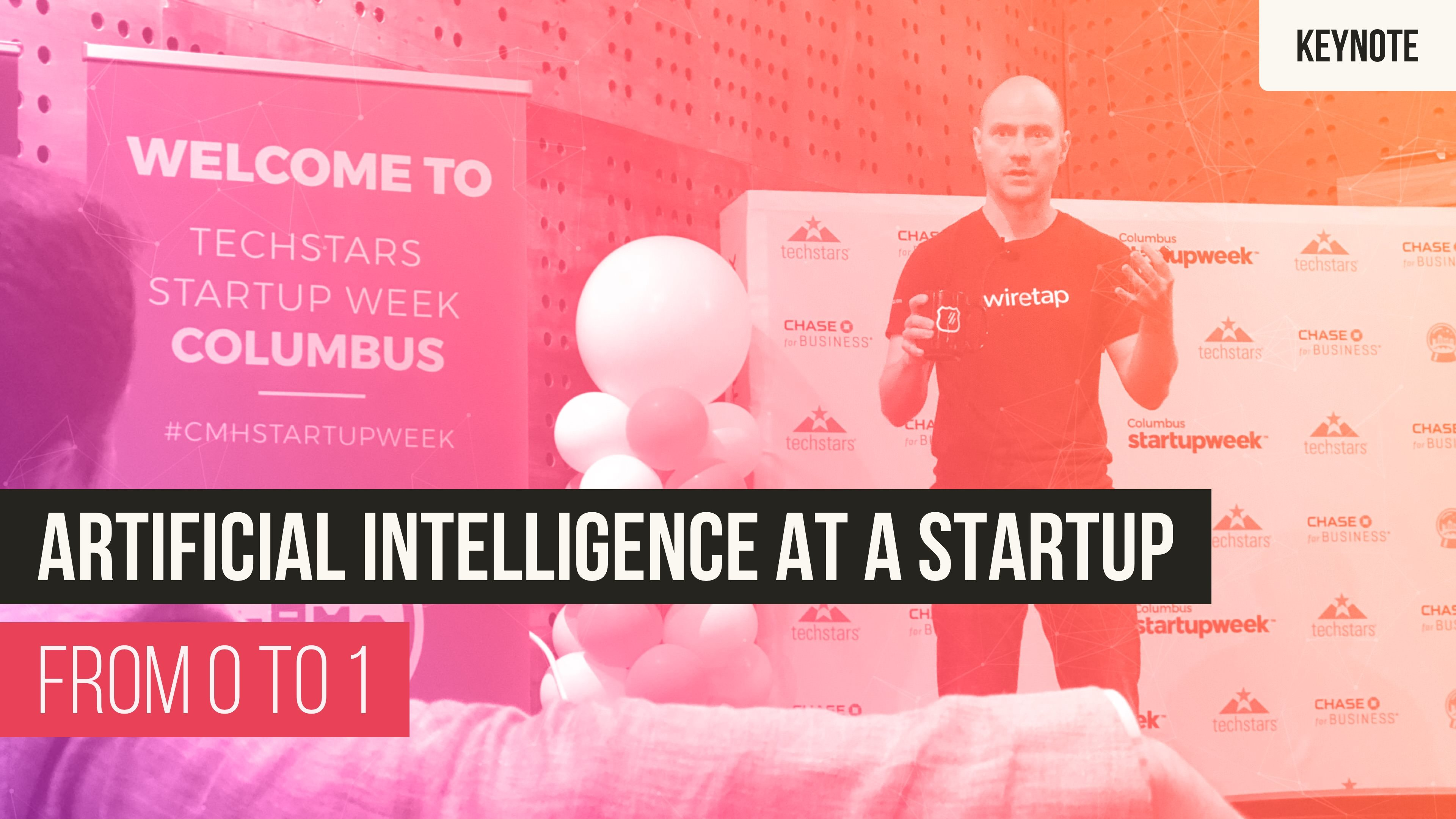 Artificial Intelligence (AI) at a Startup: From 0 to 1