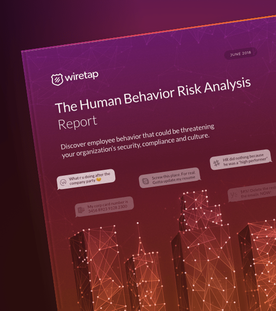 The Human Behavior Risk Analysis Report